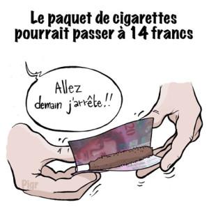 prix, cigarette, tabac, 20 francs, rouler, cher, clopes