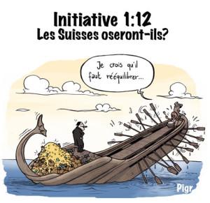 1:12, initiative, galère, justice, salaires, Suisse, capitalisme, rameur, répartition, rééquilibrage