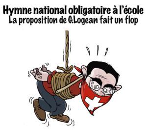 Gregory Logean, UDC, Valais, Hymne national, Héremence, extrême droite