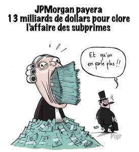 JP Morgan, banque américaine, amende, dollars, record, justice, banquiers