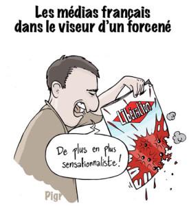 Libération, tireur fou, Paris, journaliste