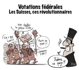 Suisses, révolution, patrons, révoltes, paix du travail