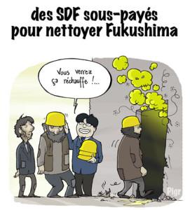 Fukushima, SDF, centrale nucléaire, travail, Japon