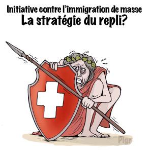 Suisse, repli, Helvetia, peur