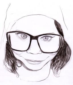 caricatureGdLunette