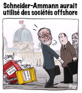 Schneider-Ammann, Ueil Maurer, Conseil fédéral, Boîtes aux lettres, casserolles