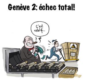 Genève 2, armes, Syrie, livraison, Montreux