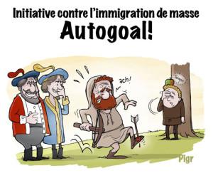 Immigration de masse, Guillaume Tell, flèche dans le pied, Mythe, légende, étrangers