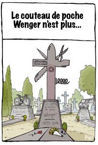 Wenger, Victorinox, couteau suisse, cimetière,