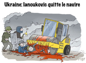 Ianoukovic, répression, Kiev, sang