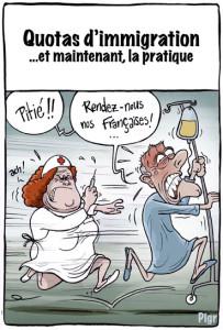 infirmières françaises, hopital, Suisse, Europe, quotas