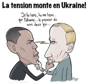 Poutine, Obama, barbichette, je te tiens, tu me tiens