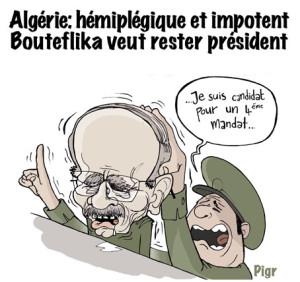 Bouteflika, Algérie, élections
