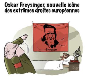 Oskar Freysinger, icône, Che Guevara, extrême droite