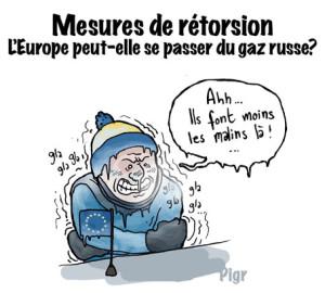 Europe, Russie, Gaz, rétorsions